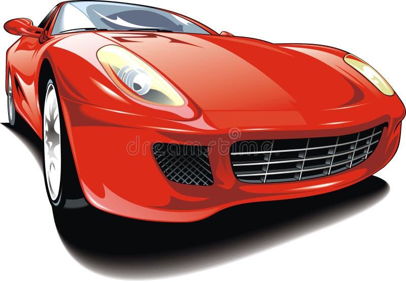 Original car design royalty free illustration