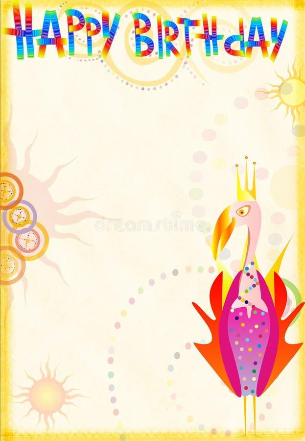 Original celebratory congratulatory card royalty free stock photos