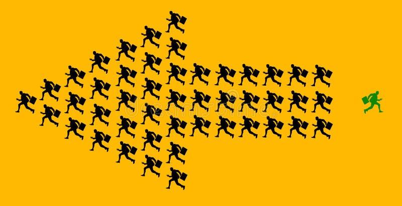 Original creativa ilustración del vector
