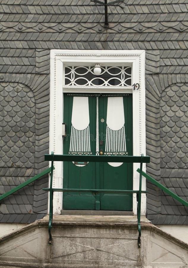 Original- dörr royaltyfri fotografi
