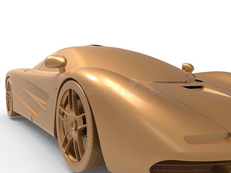 Original- design för sportbil royaltyfri illustrationer
