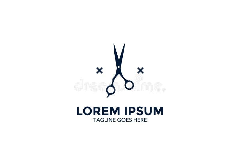 Original e esteja para fora o logotipo do barbeiro Ilustração do vetor editable ilustração do vetor