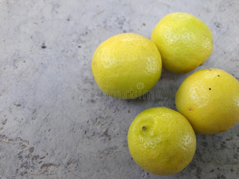 These are the original and fresh lemon with yellow colors stock photo