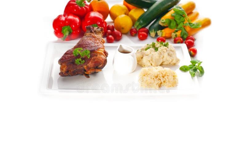 Download Original German BBQ Pork  Knuckle Stock Photo - Image of gourmet, baked: 21210956