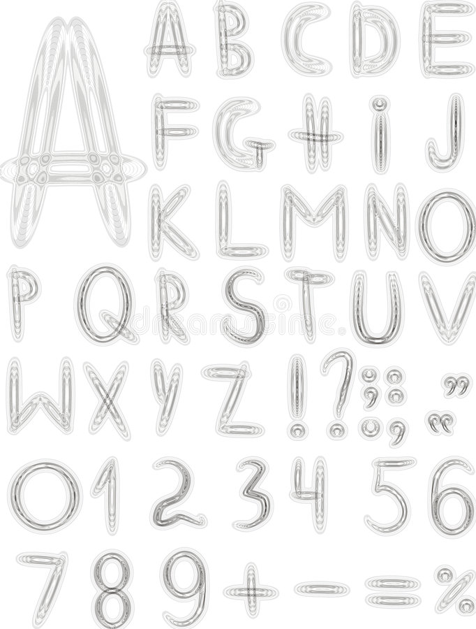 Download Original Grey Font Stock Photo - Image: 7221180