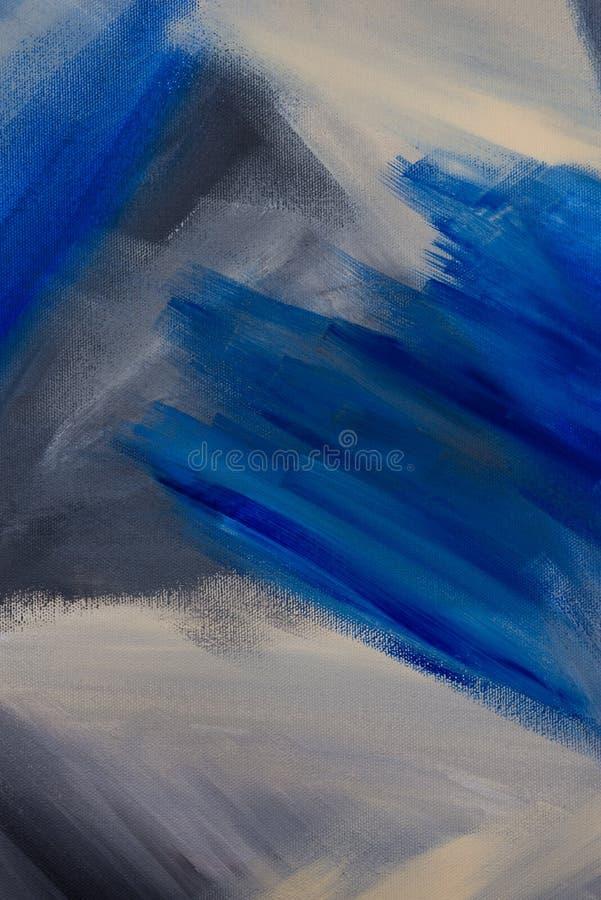 Original Hand drawn acrylic painting on canvas. Contemporary art vector illustration