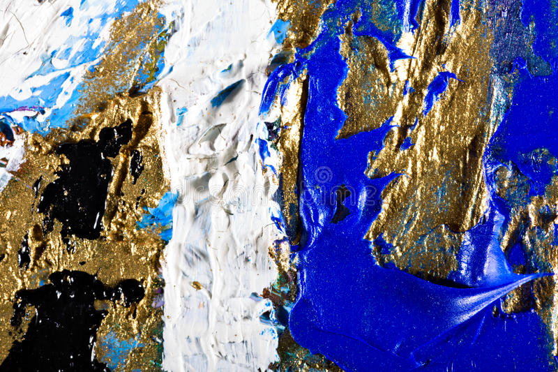 Original Oil Painting on canvas royalty free stock photography
