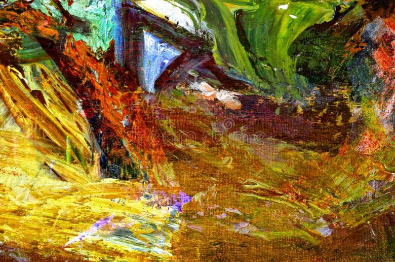 Download Original Oil Painting stock photo. Image of craft, studio - 33139340