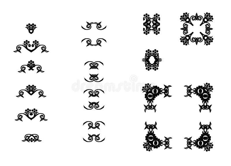 Download Original ornaments stock illustration. Image of garnishment - 7661449