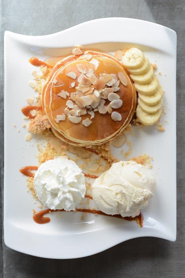 The Original pancake version7 stock image