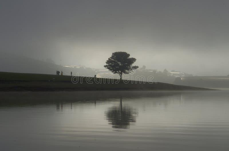 Original photo taken before sunrise appears with pentax k 5 ii kits 18 135.  stock image