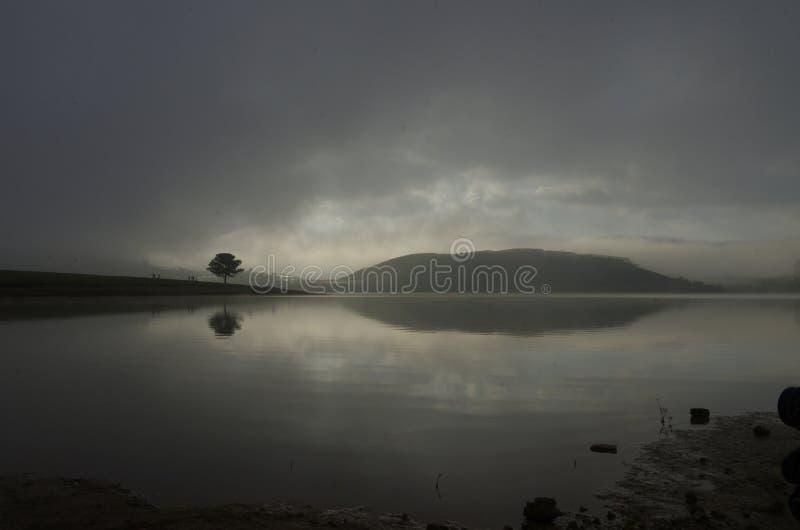 Original photo taken before sunrise appears with pentax k 5 ii kits 18 135.  stock photo