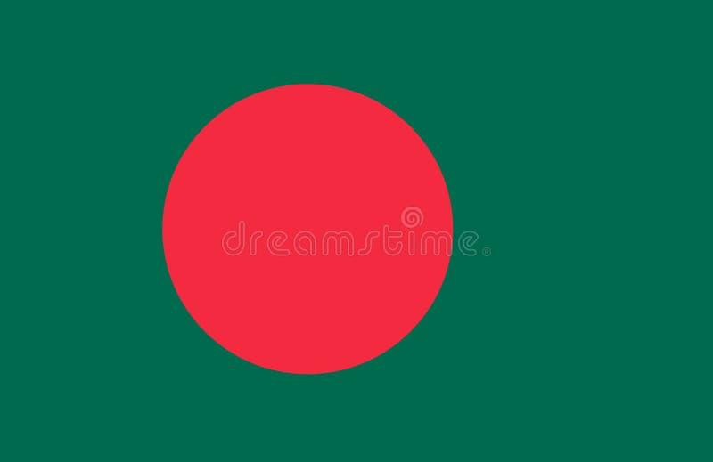 Bangladesh flag. royalty free illustration
