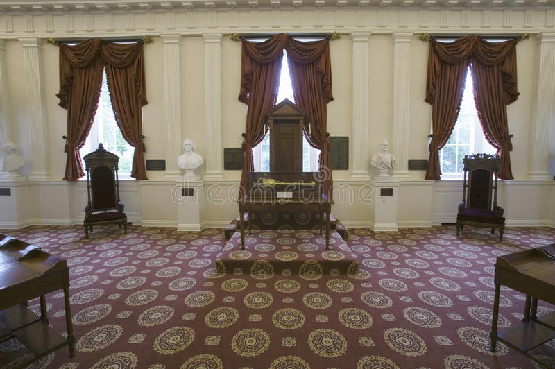 Download Original Speakers Chair From House Of Burgesses Editorial Image - Image: 27072435