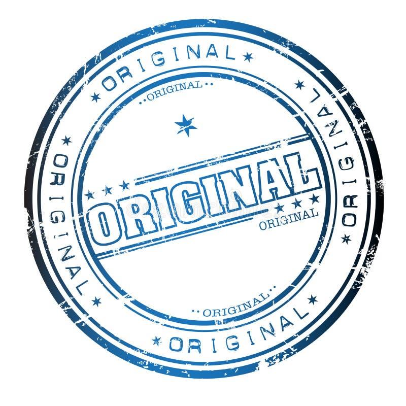Download Original stamp stock vector. Image of advertising, certificate - 7630983