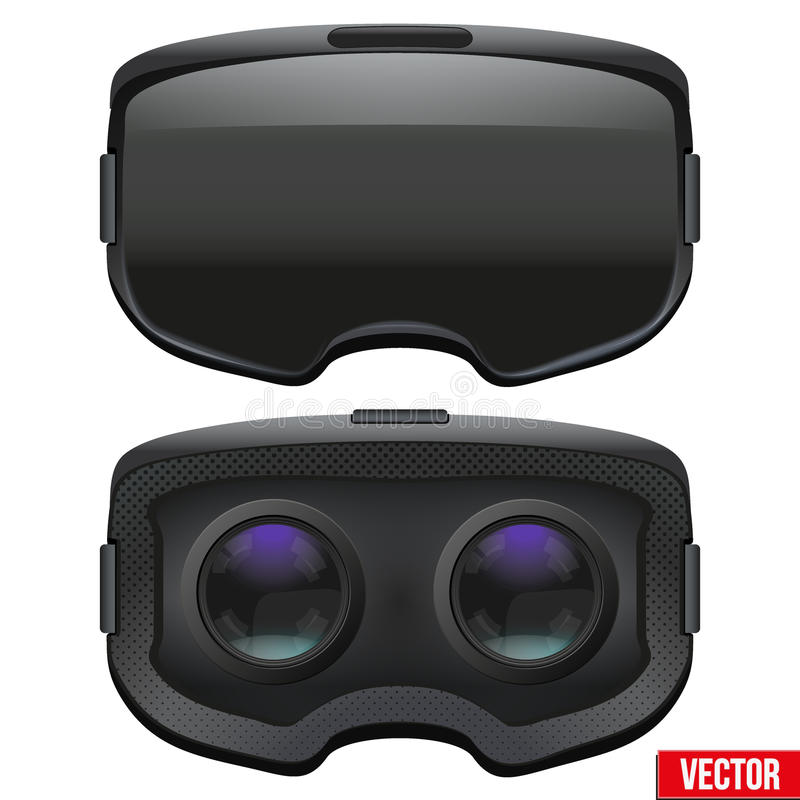 Free Original Stereoscopic 3d VR Headset Inside Royalty Free Stock Photography - 72486297