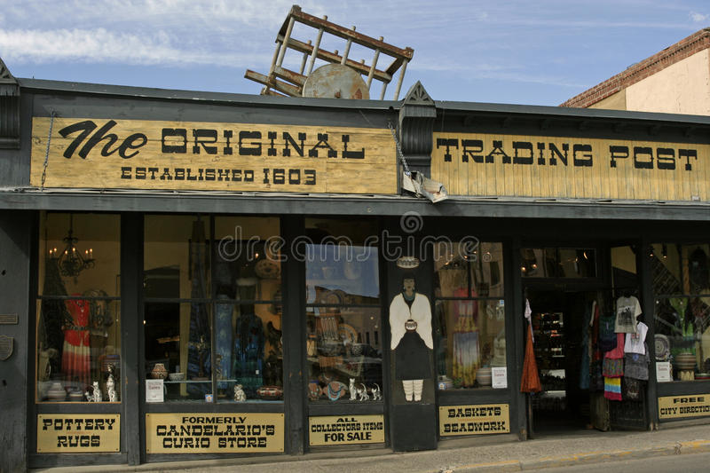 The Original Trading Post royalty free stock images