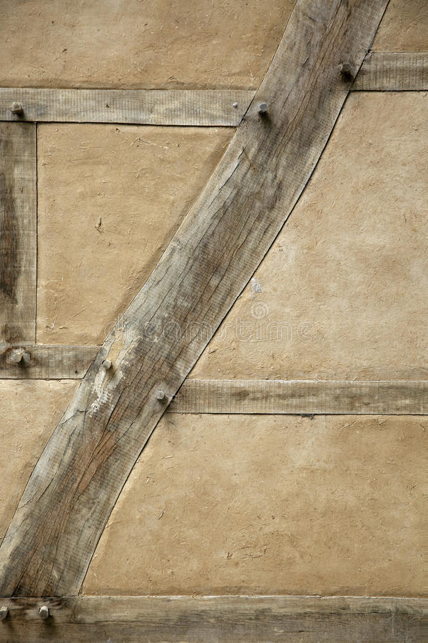 Download Original Timber Wall With Oak Beams, Straw And Clay Stock Image - Image: 30226871