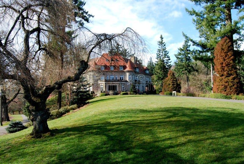 Pittock Mansion Portland Oregon Landmark royalty free stock images