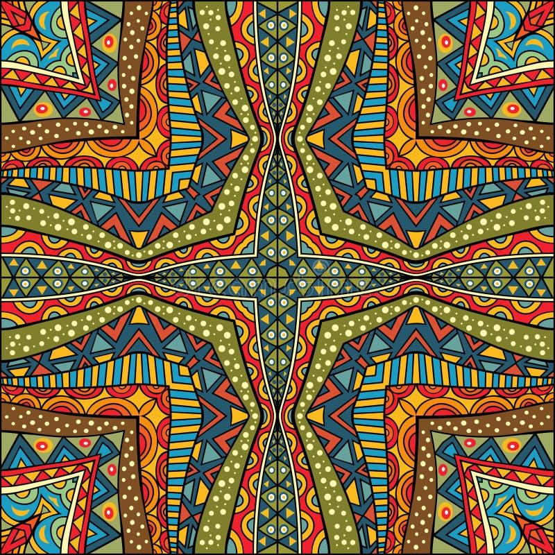 tapis color ethnique illustration stock illustration du. Black Bedroom Furniture Sets. Home Design Ideas