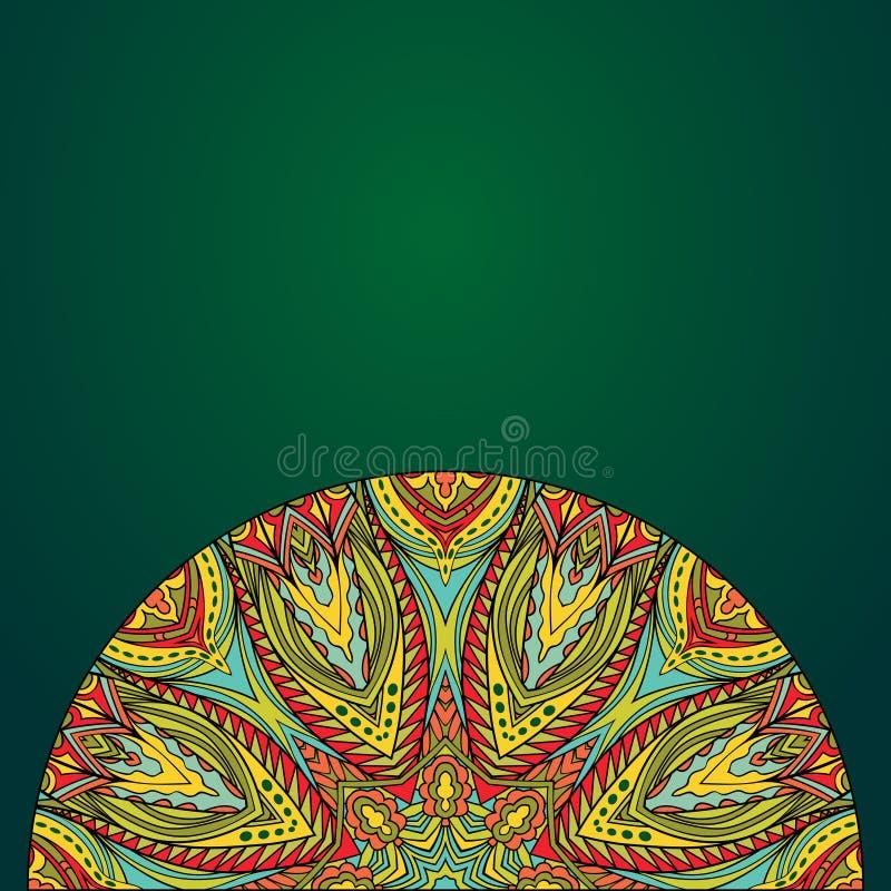 Origine etnica luminosa royalty illustrazione gratis