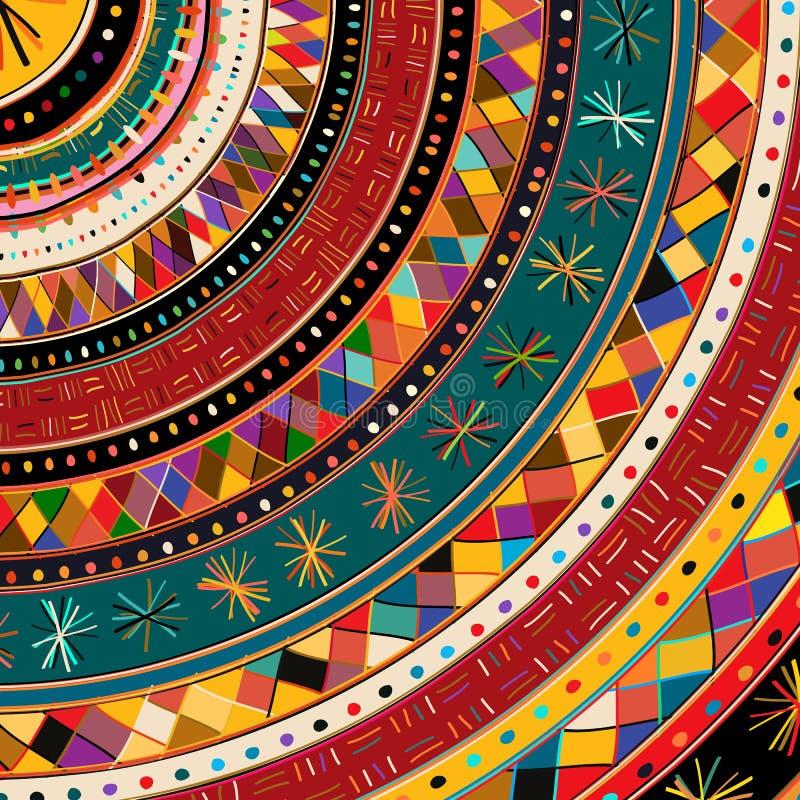 Origine etnica tribale illustrazione di stock