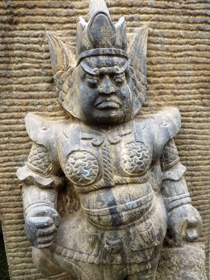origine Sculpture-chinoise images libres de droits