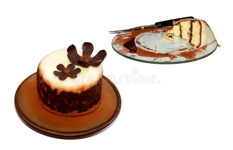 Originele cake royalty-vrije stock afbeelding