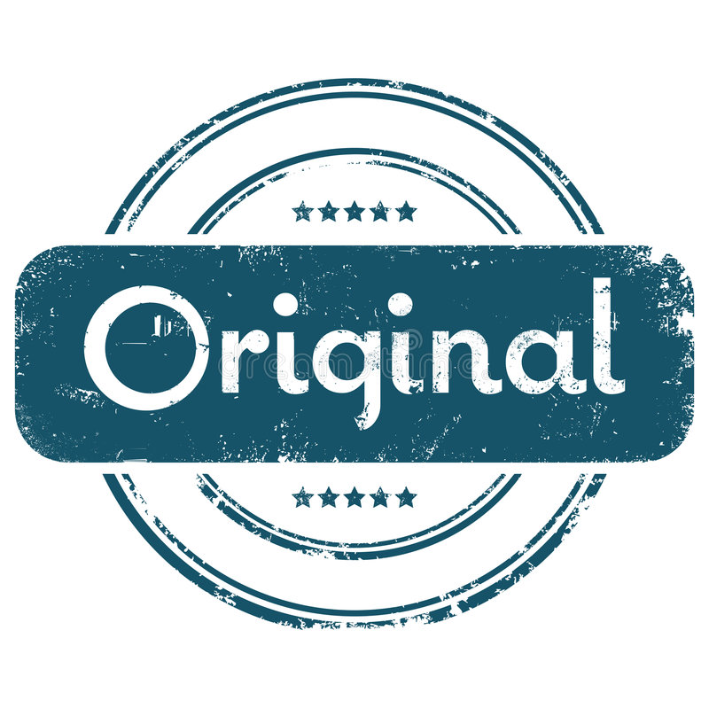 Originele grunge royalty-vrije illustratie