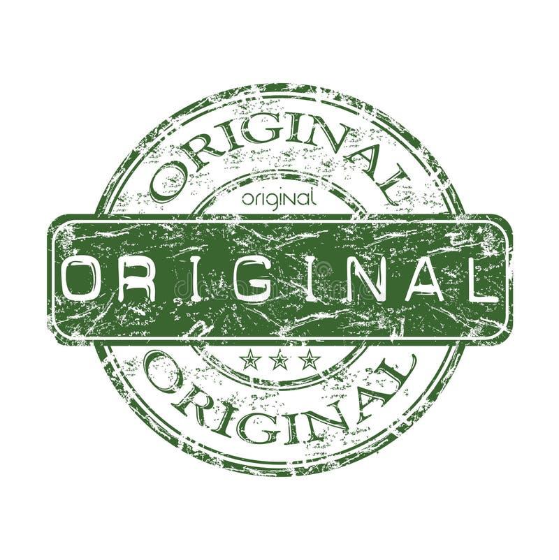 Originele grunge rubberzegel royalty-vrije illustratie