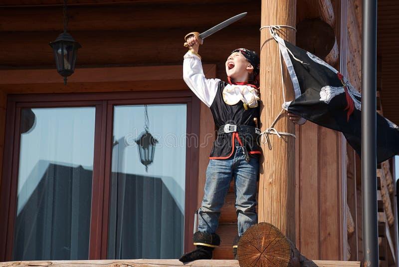 Originele piraat stock afbeelding
