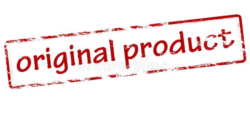originell produkt royaltyfri illustrationer