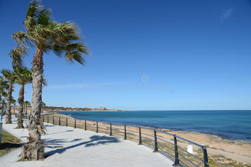 Orihuela Costa, Hiszpania fotografia royalty free