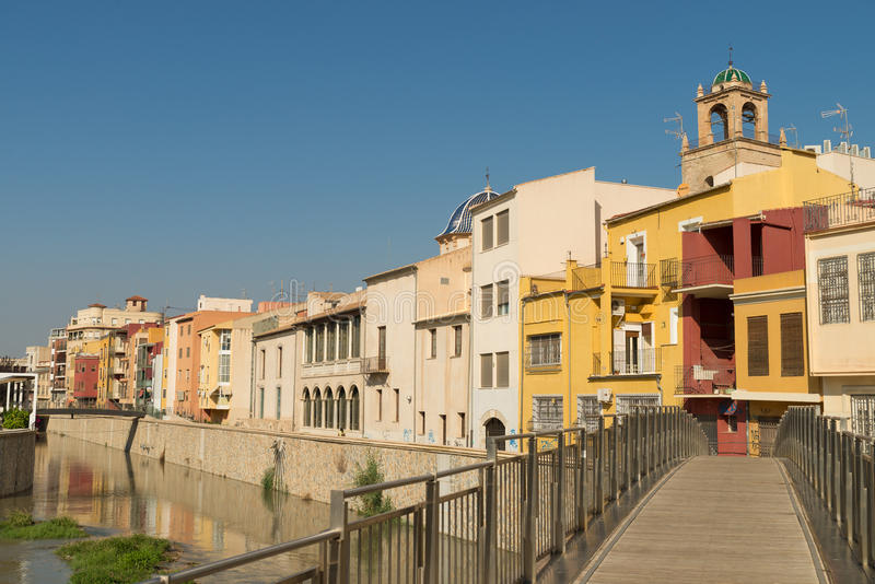 Orihuela stary miasto fotografia stock