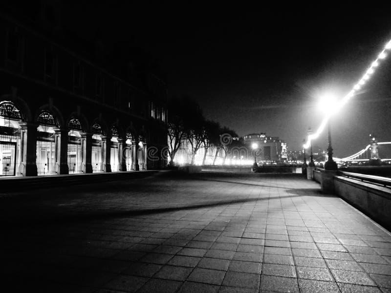 Orilla de Londres foto de archivo