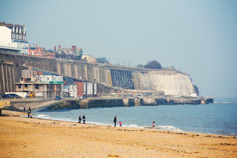 Orilla de mar en Ramsgate fotos de archivo