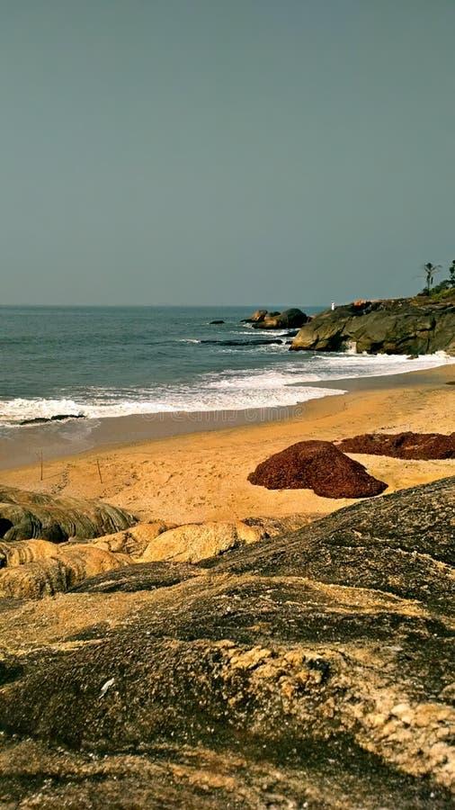 Orilla de mar hermosa fotografía de archivo libre de regalías