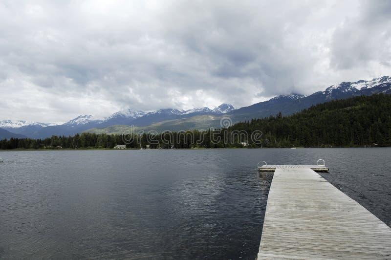 Orilla del lago fotos de archivo