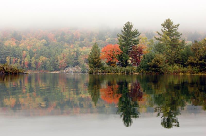 Orilla del lago George foto de archivo libre de regalías