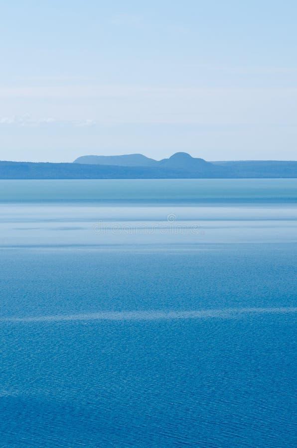 Orilla del lago superior imagen de archivo libre de regalías