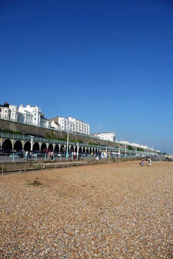 Orilla del mar de Brighton imágenes de archivo libres de regalías