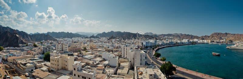 Orilla del mar de Muscat foto de archivo libre de regalías