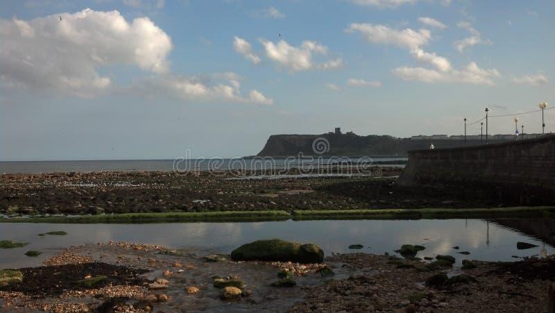 Orilla del mar de Scarborough fotografía de archivo libre de regalías