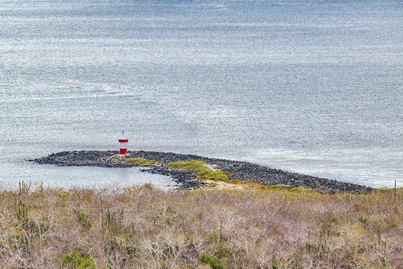 Orilla del paisaje de la visión aérea fotografía de archivo