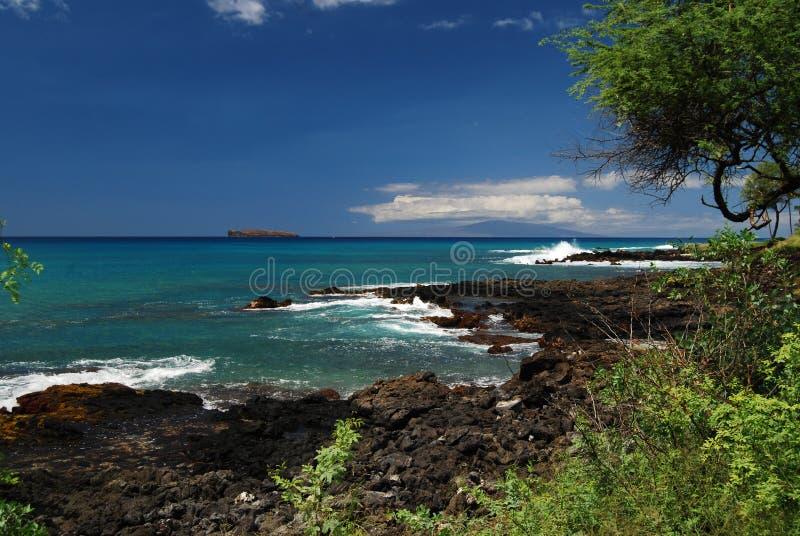 Download Orilla del sur de Maui imagen de archivo. Imagen de litoral - 6781717