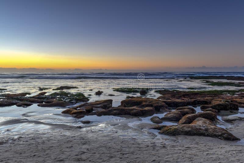 Orillas de La Jolla - San Diego, California imagen de archivo