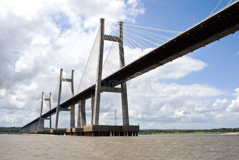 Orinoquia bridge royalty-vrije stock afbeeldingen
