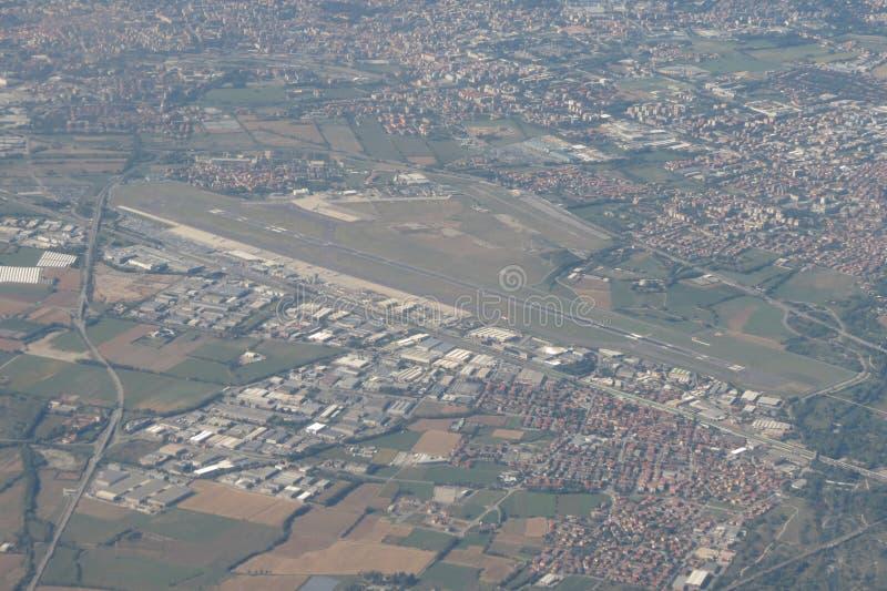 Orio al Serio airport stock photos