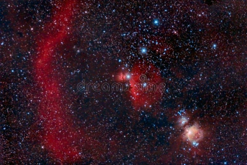 Orion Belt stockbild