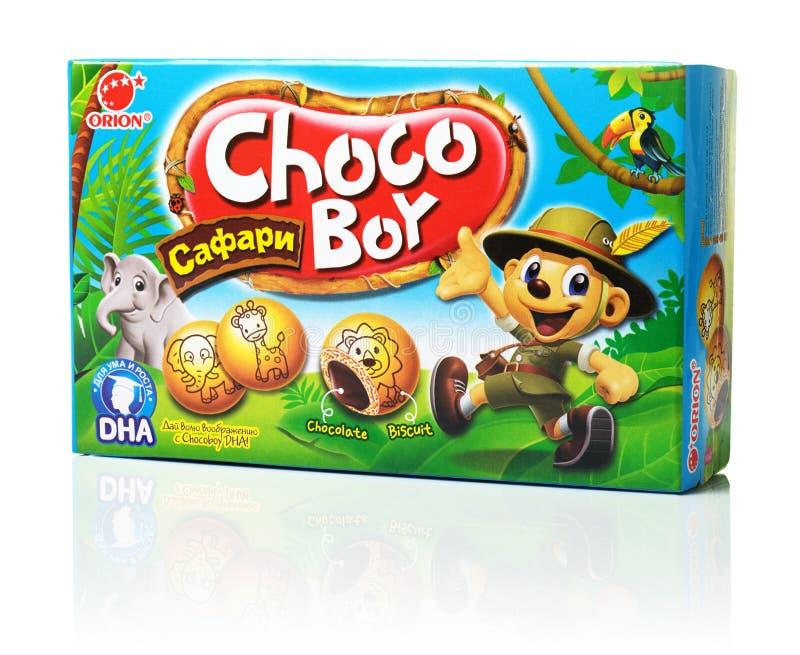 Orion Choco Boy Safari stock afbeelding